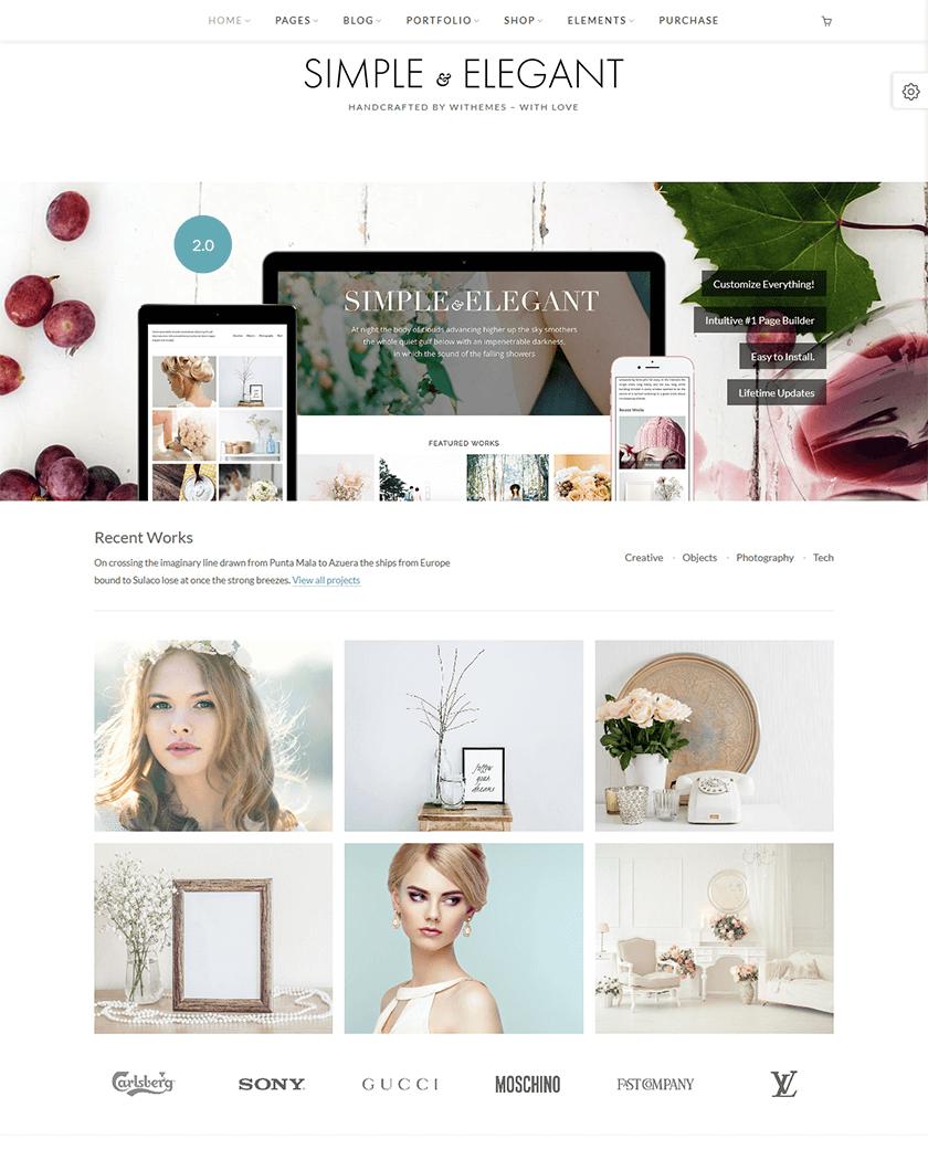 Simple & Elegant Theme