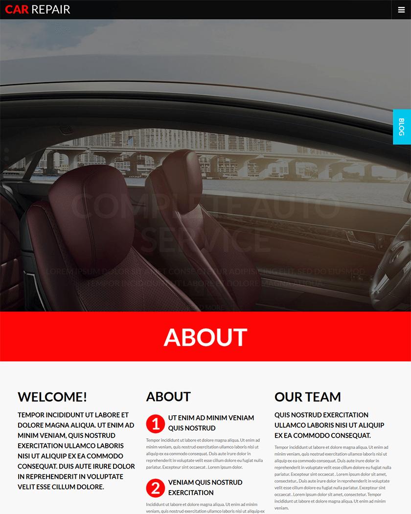 Auto Care Theme