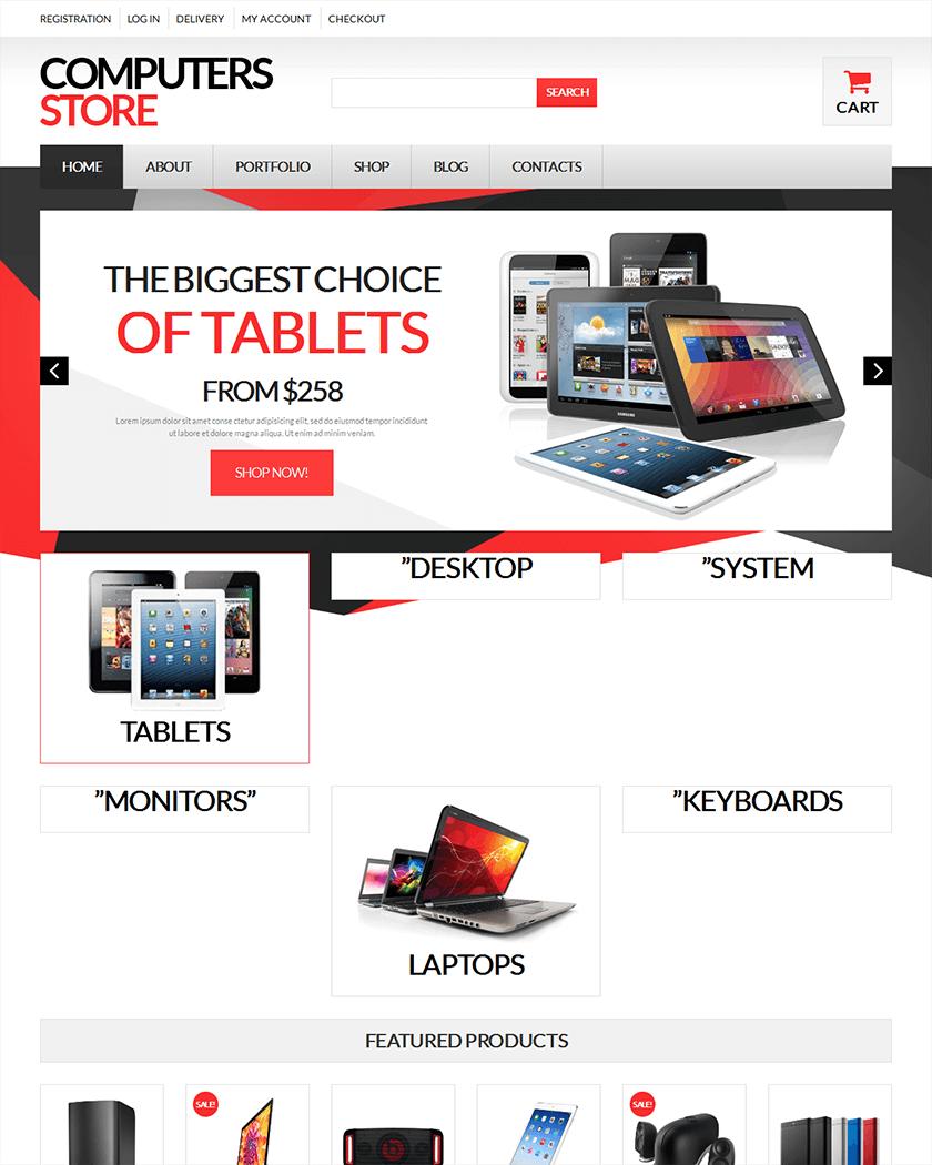 Computer Store Theme