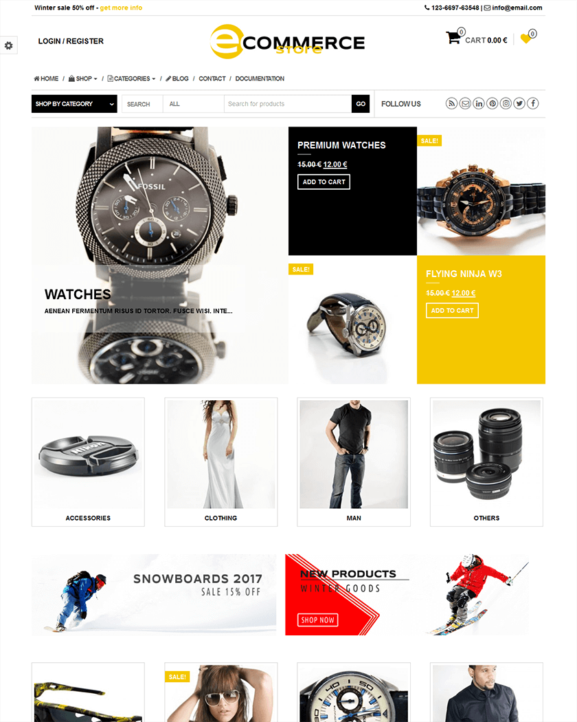eCommerce Store Theme