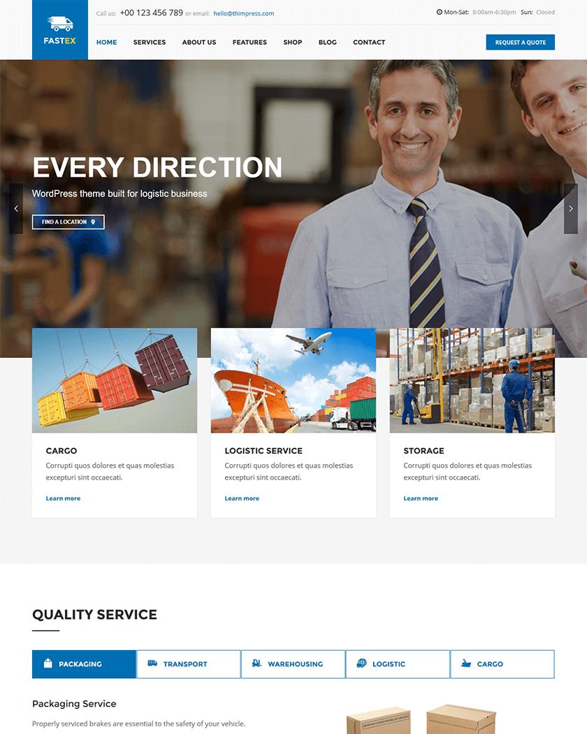 Logistics/FastEx Theme