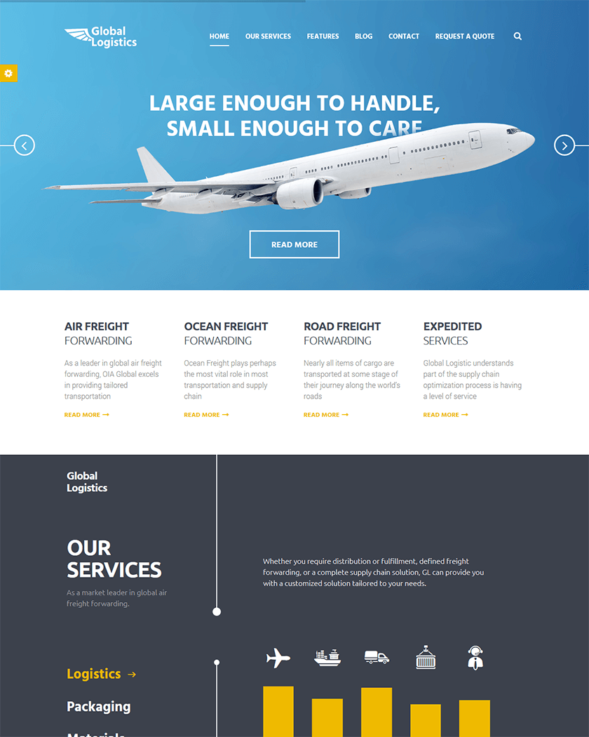 Global Logistics  Theme
