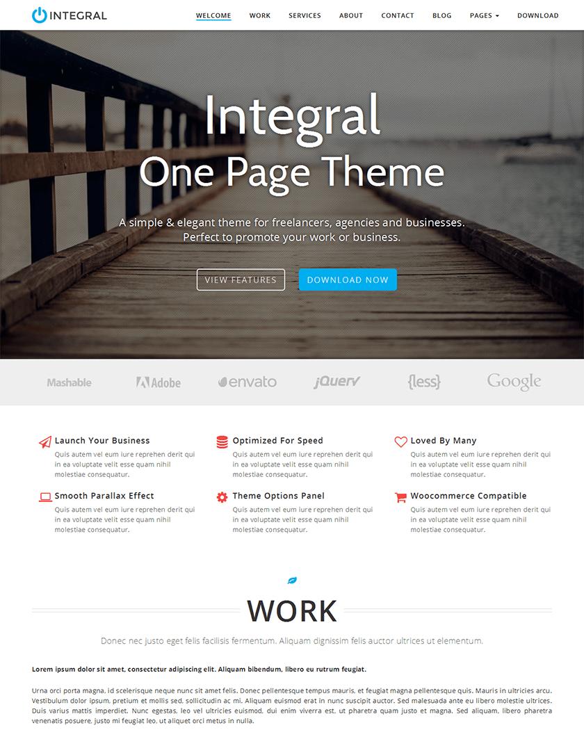 Integral Theme