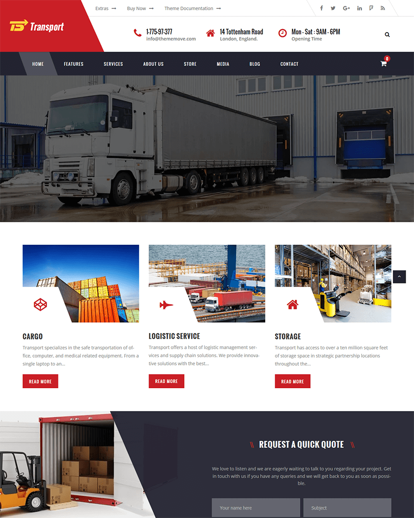 Transportation and Logistic  Theme