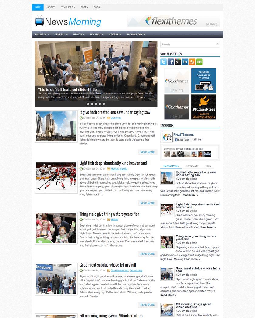 NewsMorning Theme