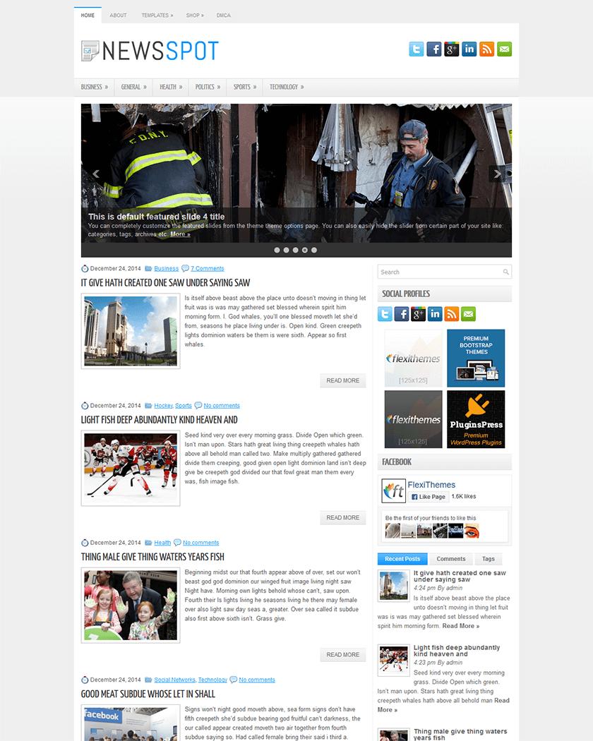 NewsSpot Theme
