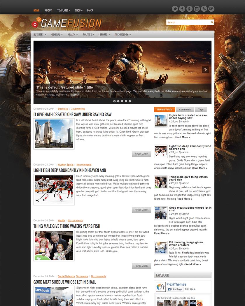 20+ Best WordPress Gaming Themes