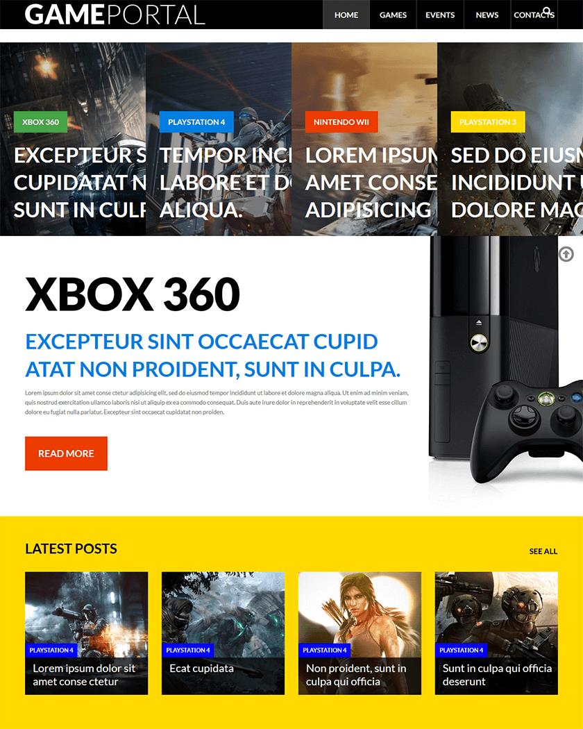 Video Gaming Theme