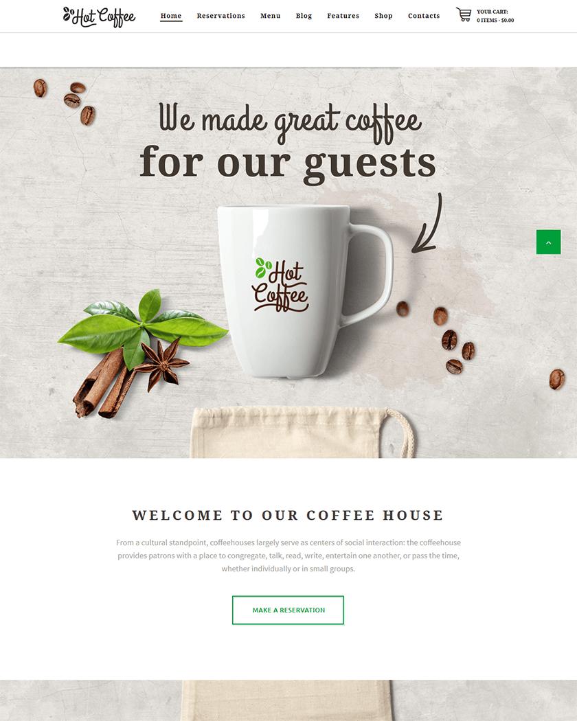 Hot Coffee Theme